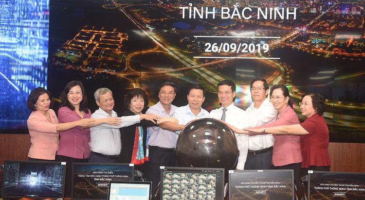 Bắc Ninh thí điểm Trung tâm điều hành thành phố thông minh