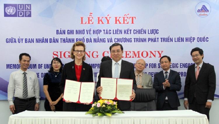 Đà Nẵng và UNDP ký kết hợp tác xây dựng Đà Nẵng City Lab