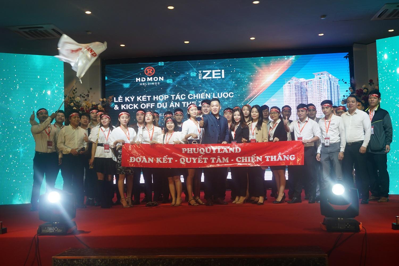 PHUQUYLAND trở thành đơn vị phân phối chính thức dự án chung cư cao cấp The Zei
