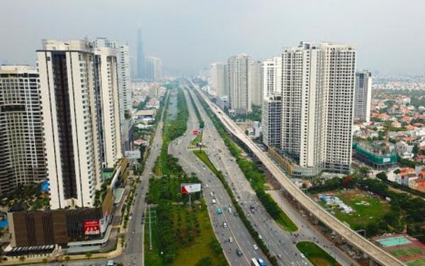 Giá nhà tại Hà Nội vẫn tăng 10% giữa mùa dịch COVID-19 .