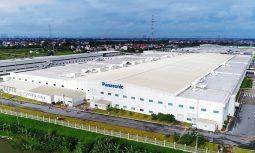 Nhà máy của Panasonic tại Bắc Thăng Long, Đông Anh, Hà Nội. Ảnh:XuanMaiCorp.