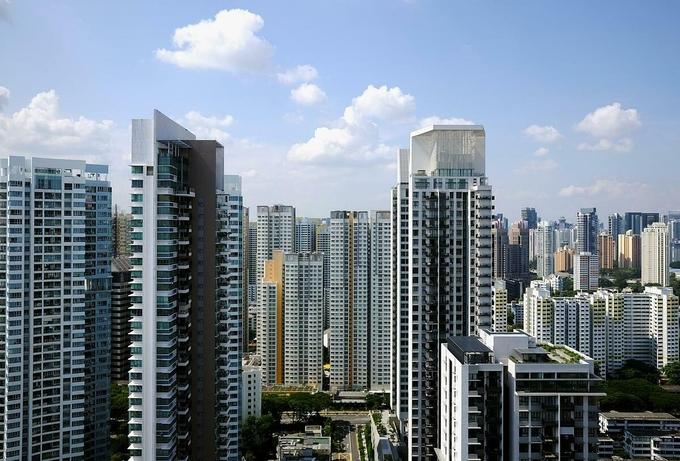 Các tòa nhà chung cư tại Singapore. Ảnh:Reuters